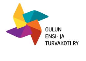 Logokuva Oulun ensi ja turvakoti ry
